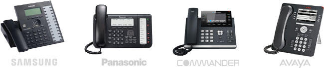 Samsung, Panasonic, Commander and Avaya nbn ready handsets