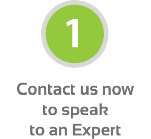 Step 1 - Contact us now to speak to an Expert