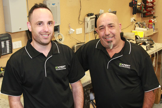 Our business phone system technicians at Expert Telecommunications
