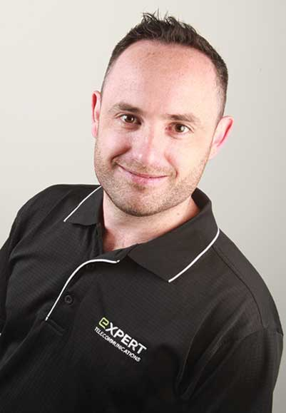 Jimmy, Service Manager at Expert Telecommunications